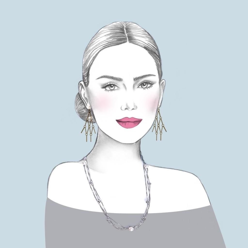 Kolczyki Orska - naszyjnik Ania Kruk